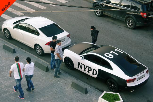 NYPD en Rusia