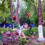 Una selva en el jardín