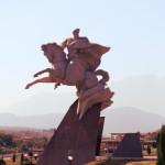 Monumento a Issa Pliev (Vladikavkaz)