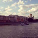 El río Moscú